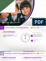 Presentación Proyecto cuéntale al Galeras, Libro relatos de Urcunina.