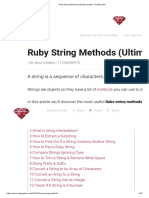 Ruby String Methods (Ultimate Guide) - RubyGuides