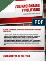 Objetivos Nacionales y Políticos