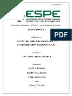 Electronica Diseño Emisor Comun