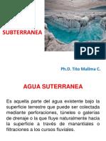 Presentación 3 - Agua Subterranea