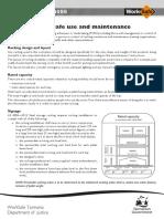 Guidance Pallet Racking OperationVs5