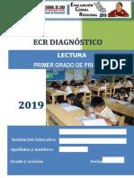 Lectura Primer Grado Ecr Inicio 2019
