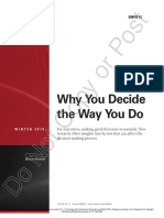 7e-Decision Making-why u Decide the Way u Do - 2015 (1)