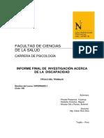 Informe Final de Investigación HHDD