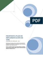 Anexo_propuesta Plan de Implementación de Tpm