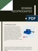 Bombas Reciprocantes