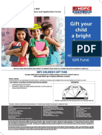 HDFC Childrens Gift Fund KIM April 2019