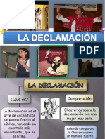 La Declamación
