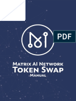 Matrix AI Network Token Swap Manual V1.2 (English)