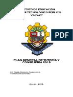 Plan General de Tutoria 2019