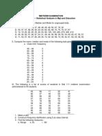 Stat Exam 2017