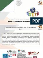 Hermanamientos Internacionales Presentacion Completa.