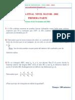 Olimpiadas de matematicas -CHILE - 2000 Al 2004_Nivel Mayor