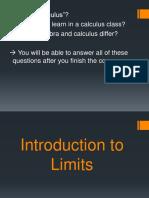 Limits Introduction