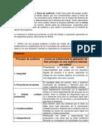 Informe Ejecutivo de Auditoria