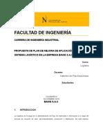 Informe (Guia) LOGISTICA