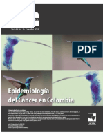 Epidemiologia Del Cancer en Colombia 2018