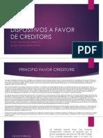 A Favor Creditoris