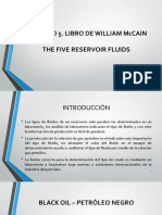 THE FIVE RESERVOIR FLUIDS. McCAIN.pptx
