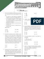 EXAMEN OLIMPIADA MATEMÁTICA - 3ro Secundaria