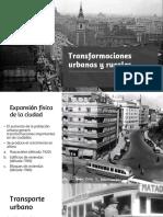 Transformaciones Urbanas y Rurales