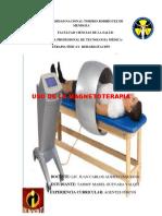Uso de La Magnetoterapia