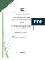Informe analítico Geografía económica