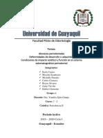 Periodoncia II 7-2 Grupo 6-1