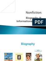 Nonfiction- Biography & Informational Books