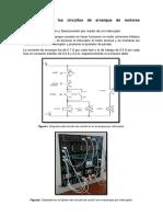 Descripción de los circuitos de arranque de motores asíncronos
