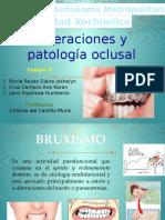Bruxismo patologia oclusal