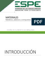 Tema Materiales