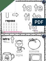 Mi Silabario Para Colorear y Repasar PDF 31 42