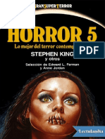 ♤ Horror 5. Lo Mejor Del Terror Contemporáneo. AA. VV