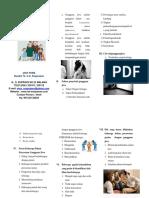 Leaflet Peran Keluarga Dalam Perawatan Dan Pencegahan Kekambuhan Pasien Gangguan Jiwa