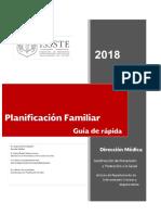 Guia Rápida Planificación Familiar