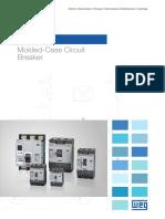WEG Acw Molded Case Circuit Breaker 50029482 Brochure English