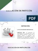 Asociación en Partición