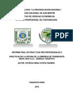Informe Practicas II Final