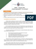 Lectura 2 - Modelo Lineal Ley de Hooke