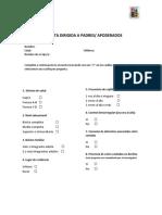 Cuestionario Final
