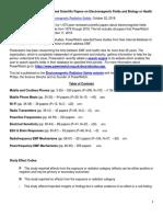 181022_EMF Studies From Powerwatch