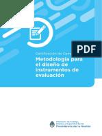 CERTIFICACION 02 Metodologia Para El Diseno de Instrumentos de Evaluacion