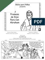 Gods Promise to Abraham Spanish CB6