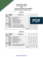 b.e. Ece r2013 Syllabus