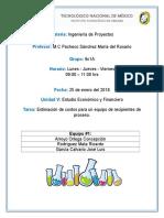 Ing. de Proyectos - Unidad 5 - Ejercicio Propuesto