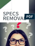 Eye7 Specs Removal Brochure