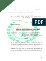Revised Standards STPs NGT Order