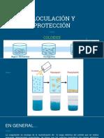 Floculación y Protección